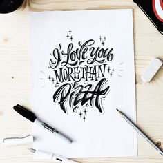 True declaration of love. Type by @kirillrichert | #typegang if you would like to be featured | typegang.com | typegang.com #typegang #typography