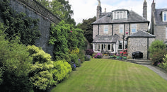 Stunning lawns at this beautiful Aberdeen home