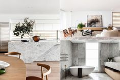 A modern home interior inspired by Japanese minimalism and nature.