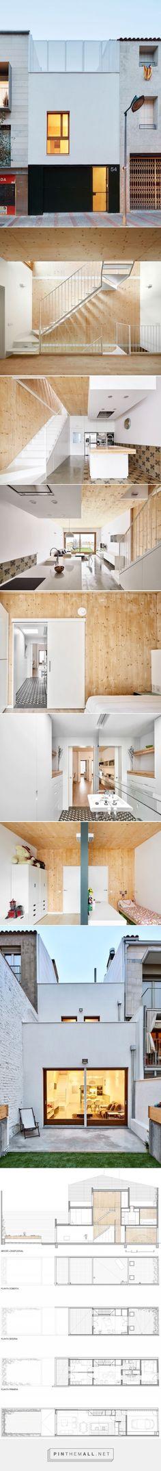 Vallribera Arquitectes > Casa entre mitgeres al Centre de Terrassa | HIC Arquitectura http://hicarquitectura.com/2016/01/vallribera-arquitectes-casa-entre-mitgeres-al-centre-de-terrassa/ - created via https://pinthemall.net