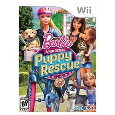 Barbie and Her Sisters : Puppy Rescue (Nintendo Wii)