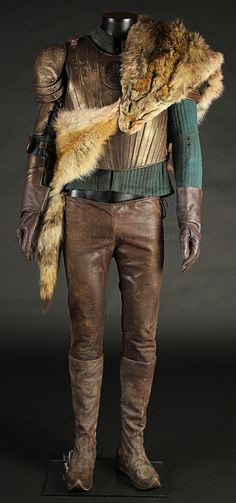 Lot 208 Vlad Tepes (Jonathan Rhys Meyers) Fox Fur Costume