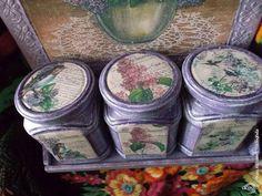 Декупаж - Сайт любителей декупажа - DCPG.RU   Волшебная сила искусства. или как я нашла вдохновение.  Click on photo to see more! Нажмите на фото чтобы увидеть больше!  decoupage art craft handmade home decor DIY do it yourself set for spices