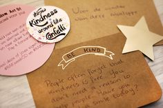 Random Acts Of Kindness Week 2016