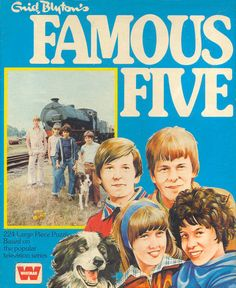Famous Five TV Series (Jigsaw 2) by Enid Blyton