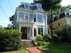 CURB APPEAL – victorian house