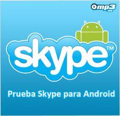 Skype para Android - ¿Todavía no has probado la versión de Skype para tu Android? Aquí compartimos el enlace de descarga para que disfrutes las funcionalidades de este programa en tu móvil: http://descargar.mp3.es/lv/group/view/kl229808/Skype.htm?utm_source=pinterest_medium=socialmedia_campaign=socialmedia