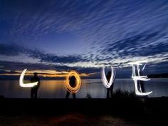 Proshots - Lightpainting With Love, Texada Island, British Columbia - Professional Photos