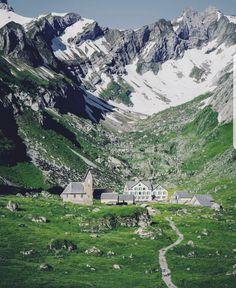 Berggasthaus Meglisalp, Wasseraeun, Switzerland
