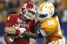 Stripping the ball from NC State- Vols off to a good start!