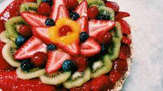 The starfish fruit tart design