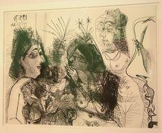 Picasso Pablo - Maison close. Médisances. Avec profil de Degas au nez froncé, Ve état | Flickr - Photo Sharing!