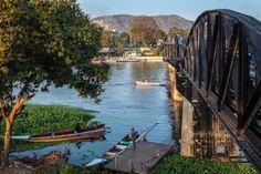 The bridge on the River Kwai.