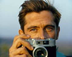 looking toward the setting sun. supermodel Werner Schreyer