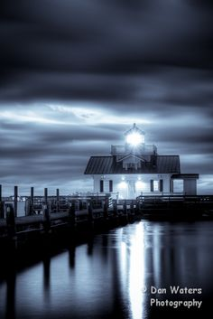 Hunted Light  Lighthouse in Manteo, NC.