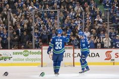 By LUCAS AYKROYD Sports https://ift.tt/2uQbM8R Hockey Ice The Sedin twins capped their 17-year careers with a note-perfect home finale as Daniel scored two goals with assists from Henrik.