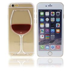 Neatday Iphone 6s Case,Cute and Lovely Red Wine Glass 3d Creative Design Hard Shell Liquid Flowing Dual Layer Hybrid Bumper Double Protection Clear Hard Back Case Cover For Iphone 6. Compatible with Iphone 6s/6 case (4.7 inch),it is really cool, I can flip my phone back and forth over and over just watching the liquid shift around. If you like having conversation pieces, this is it. No one else has anything like it. but it does not provide any coverage to the front of the phone, only the...