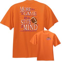 Check out our latest Not Just A Place It's A State of Mind. Exclusively from www.underthecarolinamoon.com. #UTCM #UnderTheCarolinaMoon #StateOfMind #OrangePurple