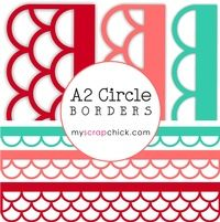 A2 Circle Borders