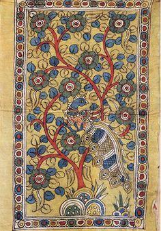 Tree of Life Kalamkari Painting – Desically Ethnic