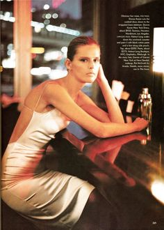 Vogue Editorial February 1998 - Stella Tennant and Erin OConnor by Steven Meisel