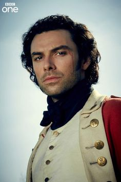 Aidan Turner as Captain Ross Poldark - BBC One's first official photo for #Poldark - 8 May 2014 and you would go there wouldn't you