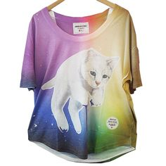 KAWAII - Fashion / Product: Rainbow Cat Tee