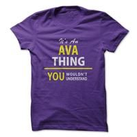 Its An AVA thing, you wouldnt understand !!