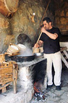 Traditioneel koken in Kreta