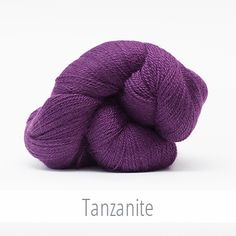 The Fibre Company Road to China Lace in Tanzanite