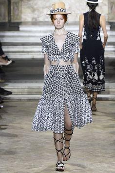 Женская мода: Temperley London, весна-лето 2016