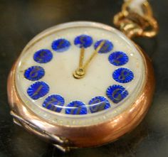 18k Gold Swiss Pocket Watch! Tastefully Elegant #pocketwatch #18kgold