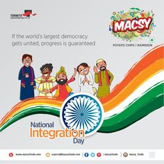 Image result for national integration day 2018
