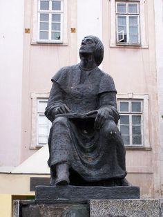 Piotrków Trybunalski - Pomnik Mikołaja Kopernika - Mikołaj Kopernik – Wikipedia, wolna encyklopedia