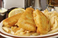 Bisquick® Beer Battered Pollock Fish n Chips