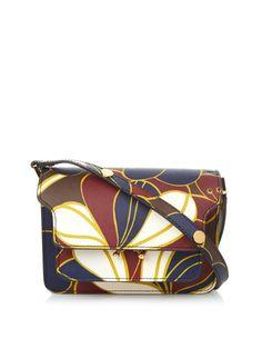 Trunk Mini floral-print leather cross-body bag | Marni | MATCHESFASHION.COM UK | #MATCHESFASHION