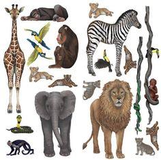 Rainforest Jungle and Safari Sticker Murals Collection Economy Size, http://smile.amazon.com/dp/B006F4J1HI/ref=cm_sw_r_pi_awdm_x_C-u-xbJJTSBFG