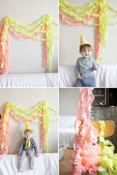 Love love love these fringey streamers!