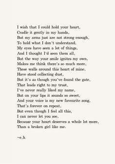 Woah lol. Okay this doesn't really relate to me. It's just a pretty poem haha. Erin Hansen poetry