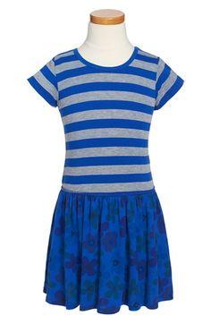 Toddler Girl's Mignone Mixed Print Cotton Dress