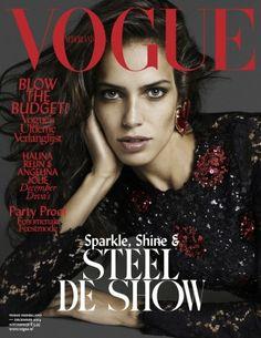 Vogue Netherlands December 2014 with Amanda Wellsh