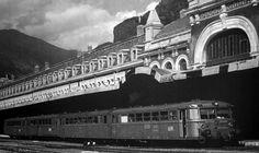 Los trenes del Canfranc