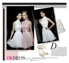 """""""OK Dress 1.29"""" by amra-mak ❤ liked on Polyvore featuring Anja, Sondra Roberts, Jimmy Choo and OKdress"""