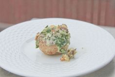 These impressive spinach-stuffed mushrooms are less than a carb per 'shroom!