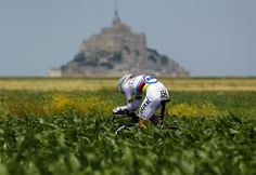 Tony Martin wins time trial le mont st. Michel, Tour the France 2013