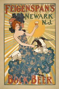Feigenspan's Bock Beer.  Source: New York Public Library