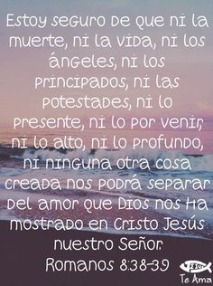 Romanos 8:38-39 facebook.com/jesusteamamgaministries Seek Me, Jesus Saves, Prayer Request, Verses, Prayers, Lord, Quotes, Facebook, Christ