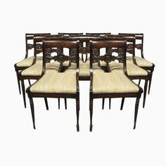 antiker schreibtisch stuhl sessel im art deco mit leder bezogen um1920 very british. Black Bedroom Furniture Sets. Home Design Ideas
