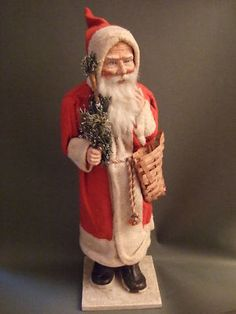 Antique German Santa - German Belsnickle - typical of it's time