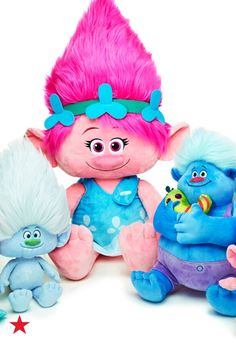 98e5f4bc5d422 DreamWorks Trolls Plush Doll Collection Kids - Sets   Outfits - Macy s